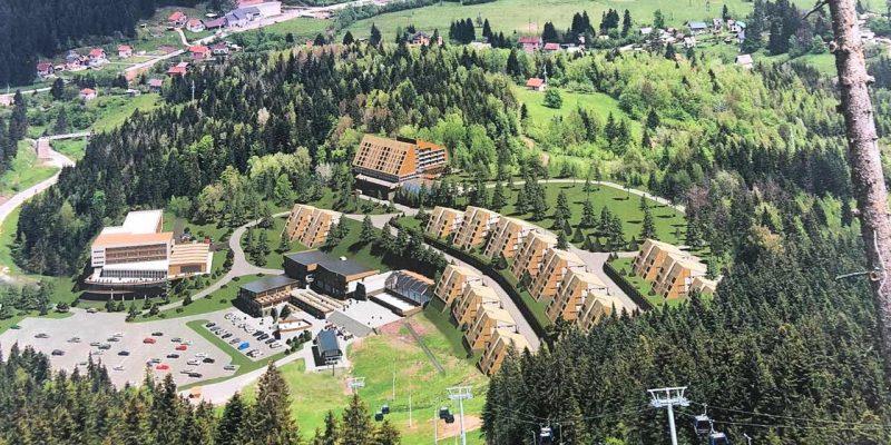 Hotelsko-apartmansko naselje na Ravnoj planini